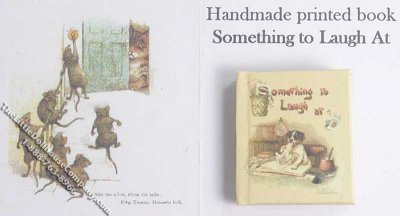 Miniature Book: 'Something to Laugh At'