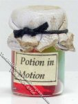 Miniature Jar of Potion in Motion Potion for Dollhouses