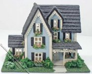 144th Inch Scale Victorian Dollhouse Kit
