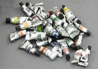 Miniature Oil Paint Tubes for Dollhouses (1/pk)