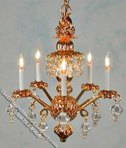 Miniature Princess Abigail Chandelier
