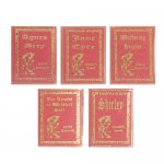 Miniature Reproduction Books by Bronte Sisters for Dollhouses