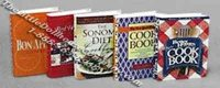 Miniature Reproduction Cook Books Set 1 for Dollhouses