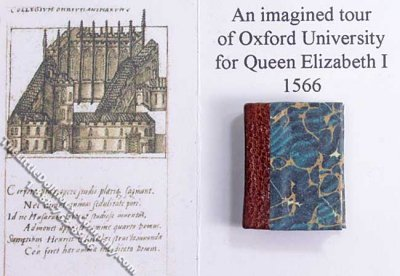 Miniature Book: 'An Imagined Tour of Oxford University...'