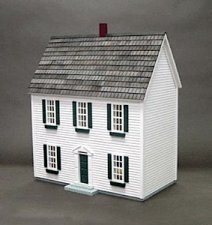 "Real Good Toys H72, 1/2"" Colonial Dollhouse Kit"