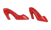 Miniature Red High Heeled Shoes