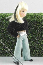 Jule Flexible Girl Doll by Erna Meyer for Dollhouses