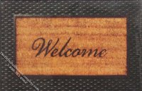 Miniature Welcome Mat for Dollhouses