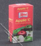 Miniature Apple Juice Box for Dollhouses