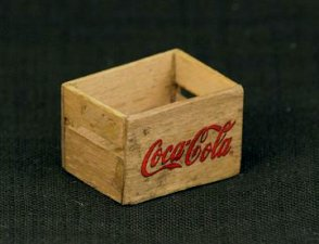 Dollhouse Miniature Coca-Cola Wooden Crate