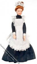Dollhouse Scale Model Maid Doll