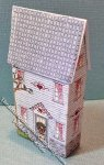 Miniature Lithographed Ann & Andy House Kit for Dollhouses