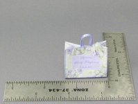 Dollhouse Miniature Paper Shopping Bag