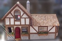 Assembled Tudor Style Old English Cottage