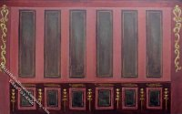 History Etcetera Pattern Miniature Mural for Dollhouses
