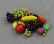 Dollhouse Scale Model Fruits Handcrafted by Amy Robinson