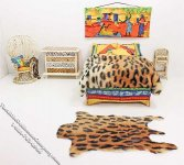 Miniature Wild Animal Bedroom Set by Serena Johnson