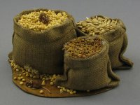 Dollhouse Scale Model Sack with Seeds