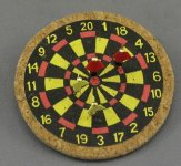 Dart Boards and Darts by Amy Robinsonof of All Through the House
