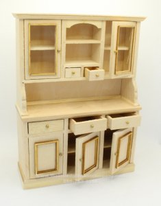 Miniature Unfinished Sideboard