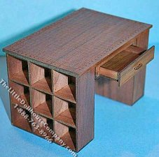 Miniature Fabric Cutting Table Kit for Dollhouses