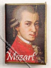 Miniature book: Mozart