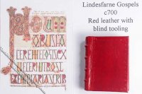 Dollhouse Scale Model Book Lindesfarne Gospels c700