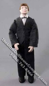 Man with Red Hair in Suit by Patsy Thomas for Dollhouses