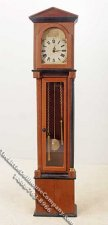Miniature Grandfather Clock for Dollhouses