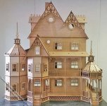 Ashley Victorian Laser Cut Dollhouse Kit