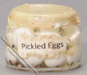 Dollhouse Scale Model Jar of Pickled Eggs