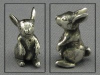 Bunny Bank (Silver) by Don Henry