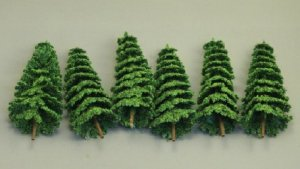 Douglas Fir Trees (6pc)