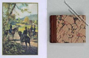 Miniature Book The United States Army and Navy , 1899