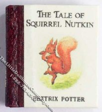 Dollhouse Miniature Beatrix Potter's The Take of Squirrel Nutkin