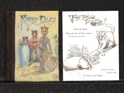 Miniature Illustrated Readable Book: 'Fairy Tales'
