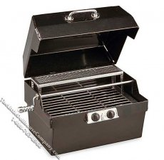 Miniature Metal Tabletop BBQ Grill for Dollhouses