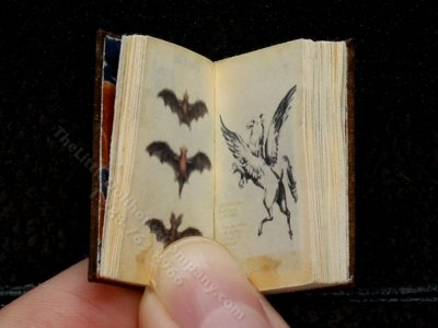 Miniature Book: 'Magical and Mythical Creatures'