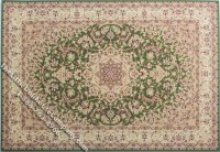 Dollhouse Scale Model Medium Sized Rectangular Traditional Rug