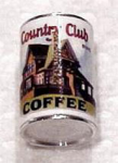 Miniature Club House Coffee Can for Dollhouses
