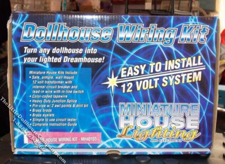 Large Wiring Kit for Dollhouse Models