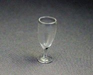Dollhouse Scale Model Spritzer Glass