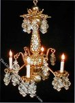 Dollhouse Scale Model Lady Pamela Chandelier