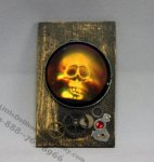 Dollhouse Miniature Skull Hologram
