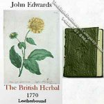 Dollhouse Miniature The British Herbal Book