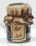 Miniature Jar of Bat Jam for Dollhouses