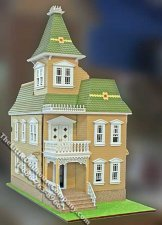 Stansfield Victorian Half-Scale Laser Cut Dollhouse Kit