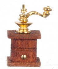 Miniature Antique Coffee Grinder For Dollhouses