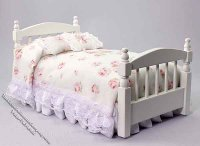 Dollhouse Miniature Bed for Girls