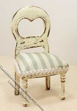 Miniature Aged Chair for Dollhouses